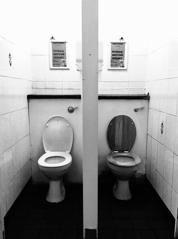 Bathroom Public Restroom Indoors  No People Black And White Friday