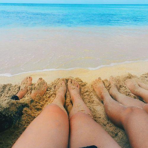 Blackandwhite Adult Legs Water Sea Ocean Clear Sand Sunny Sunshine Beautiful Beauty In Nature Beach Beach Feet Blue