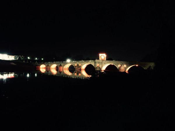 Edirne Karaagac Meriç Bridge