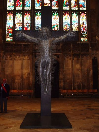 Sculpture England Glochester Architecture Sculpture Abstract Church Jesus Cathedral