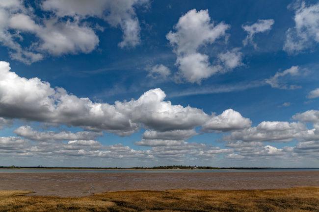 Osea island Dengie England Essex Essex Coast Estuary Landscape Osea Island River Blackwater Sky Skyscape