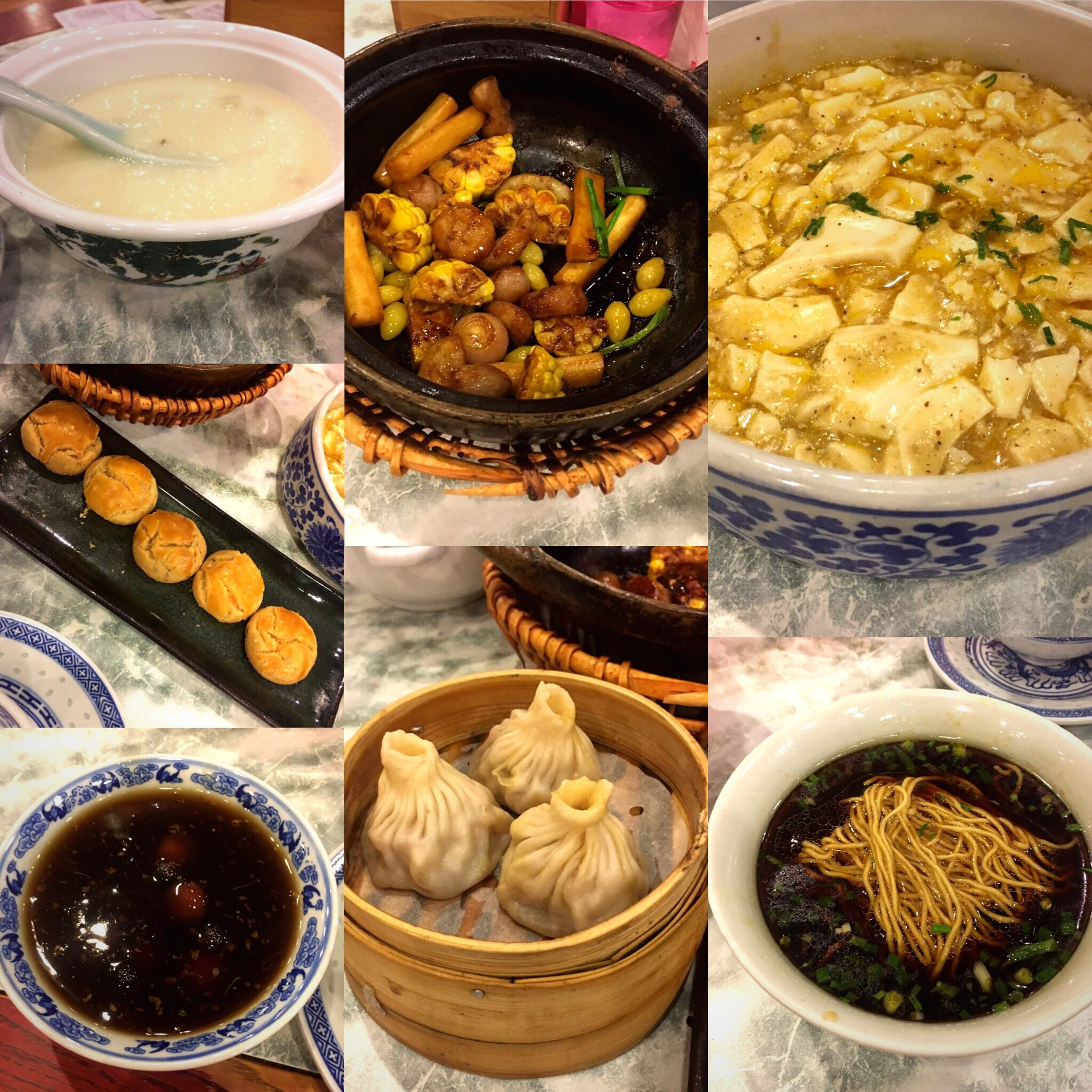 food and drink, food, variation, freshness, ready-to-eat, bowl, healthy eating, no people, chinese dumpling, indoors, collage, dumpling, dim sum, close-up, day
