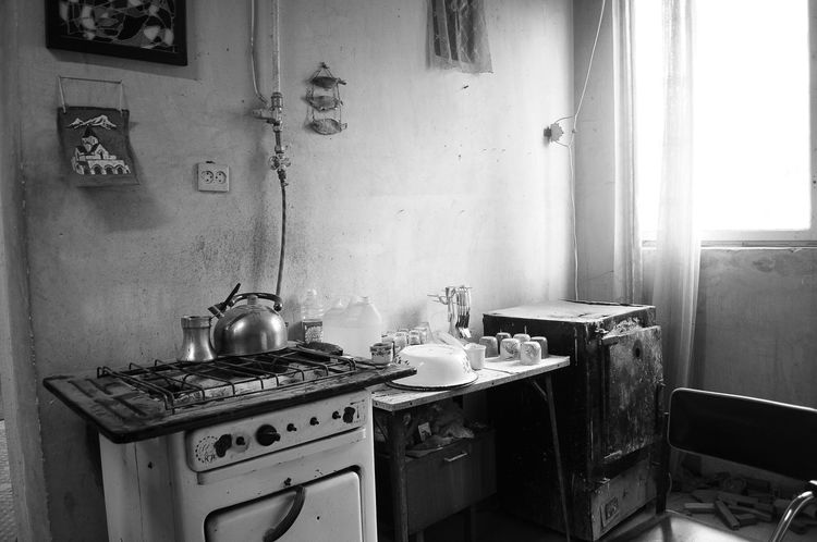 Armenia Domestic Kitchen Domestic Room Food Home Interior Indoors  Kitchen Stove Vanadzor