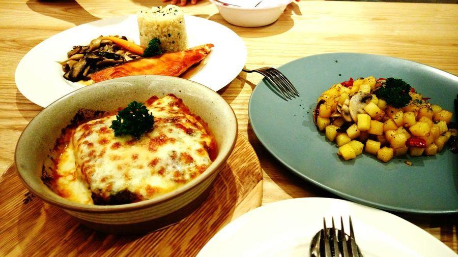 อาหารเย็นวันนี้ First Eyeem Photo