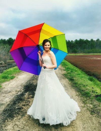 The Portraitist - 2016 EyeEm Awards Rainbow Umbrella