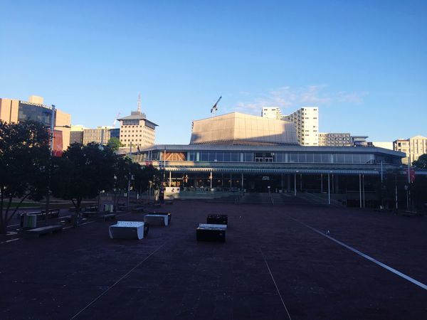Aotea square in Auckland without people City Square City No People Morning In The City