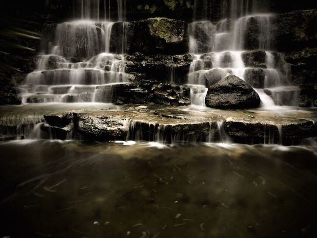 Long Exposure Water Motion Waterfall Nature Beauty In Nature Running Water IPhoneography Nightcapproapp Klmfoto Tnkarts