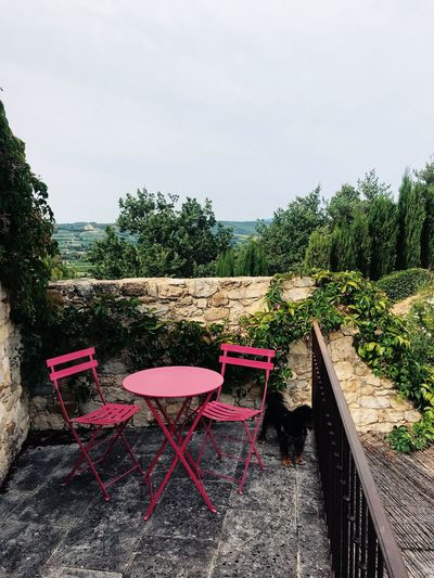 France Relaxing Rhône Travel Balcony Chair Countryside No People Seat South Of France Summer Travel Destinations Vacation