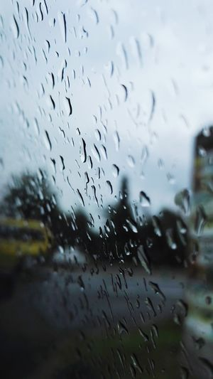 Window Wet Weather Drop Sky Nature Rain Rainy Car EyeEmNewHere Be. Ready. Perspectives On Nature