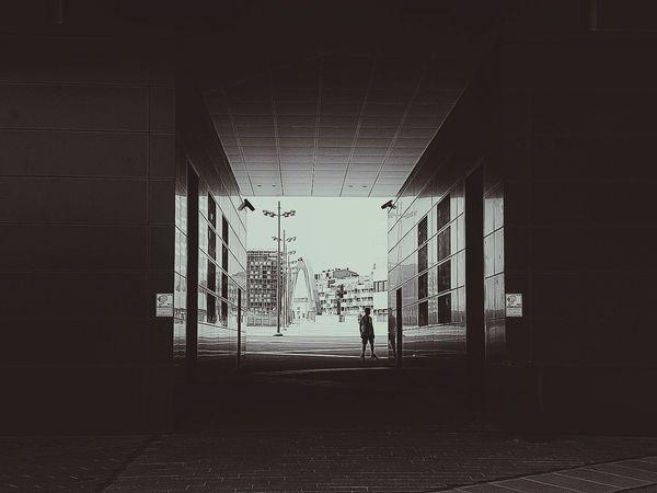 The Street Photographer - 2017 EyeEm Awards Streetphotography Skatelife Architecture EyeEm Best Shots - Black + White Instantphoto TheWeekOnEyeEM EyEmNewHere Framed View