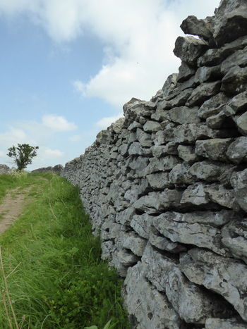 Drystone Wall Drystonewall Drystonewalls No People Outdoors Peak District  Stone Stonewall Walls