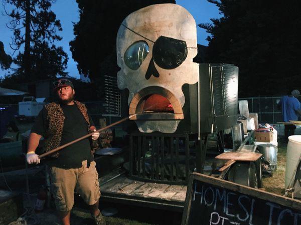 Pizza Skull Punk Burger Boogaloo