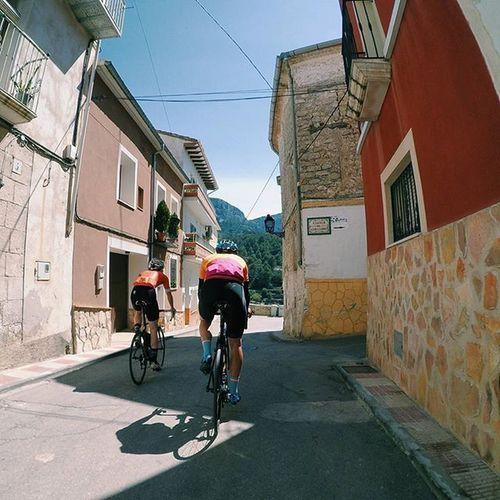 Cyclingviews Exploremore Thisiscycling OutsideIsFree Cycling @mack_cycling @podiacc Sport Calpe Gopro VSCO Vscocam Village Colours Kross2rio