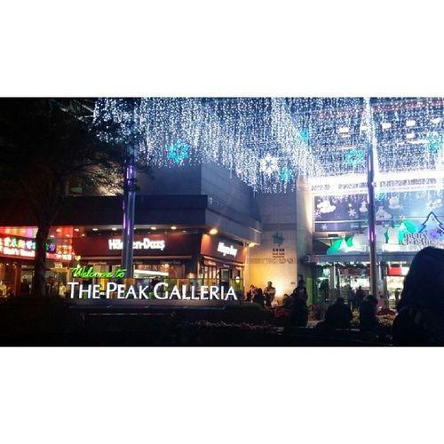 The Peak Galleria. The main mall on top of HK mountain. Thepeak Thepeakgalleria Hongkongvacay