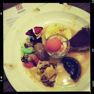 guilty pleasure for this dessert sampler