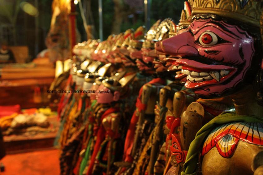 Dolls Wayang Art INDONESIA