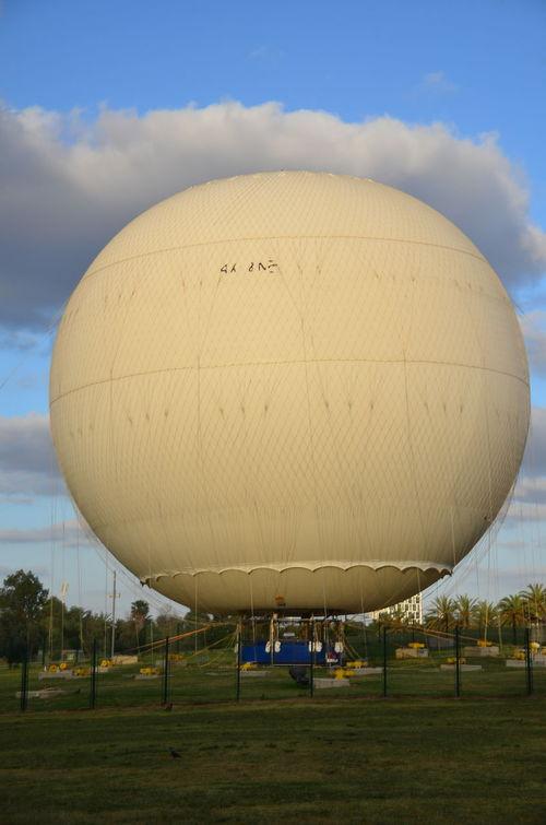 Grass Grassy Hot Air Balloon Landscape Leisure Activity No People Outdoors Park Ramatgan Sky