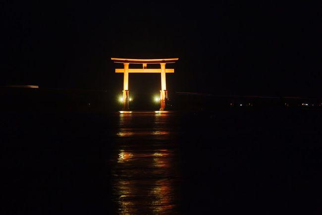 Japanese Style Japanese Culture Red Gate TORII Shizuoka Hamamatsu Japan Travel Nightphotography