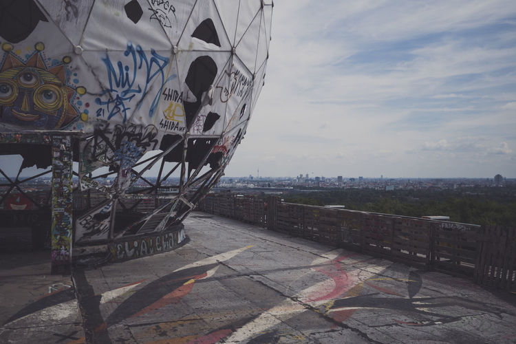 Architecture Art Built Structure Cloud Cloud - Sky Day Nature No People Outdoors Sky Teufelsberg Teufelsbergberlin