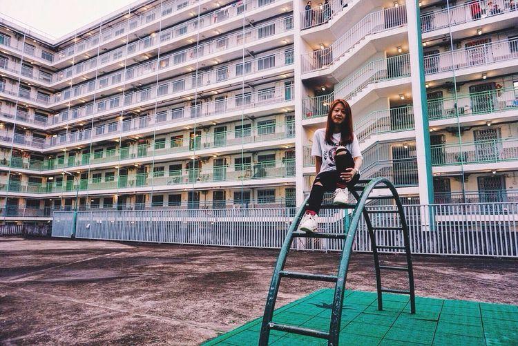 Architecture Building Exterior Lifestyles Explorehk Nam San Chuen Shek Kip Mei