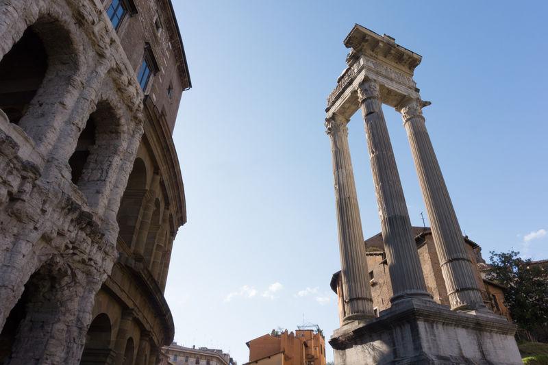 Temple Of Apollo Sosianus Against Sky