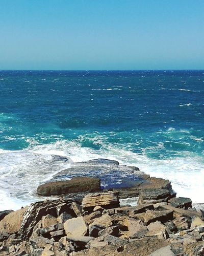 Sea Horizon Over Water Water Nature Travel Destinations Wave Beauty In Nature Tourism Scenics Blue No People Tranquil Scene Vacations Tranquility Sunlight Day Sky Baleal Tranquility Portugal
