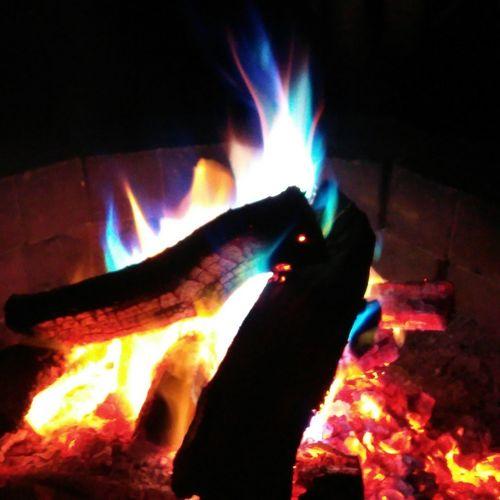 fire Human Hand