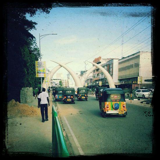 Tuk Tuk city..Mombasa city... Hanging Out Taking Photos