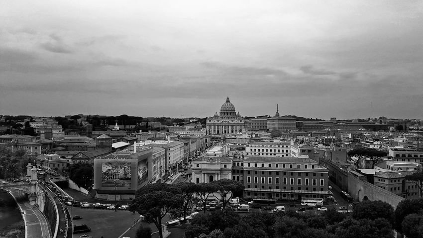 Roma Vatican VaticanCity Architecture Building Exterior Built Structure City Cityscape Cloud - Sky Day No People Outdoors Rome Italy Sky Vatican City
