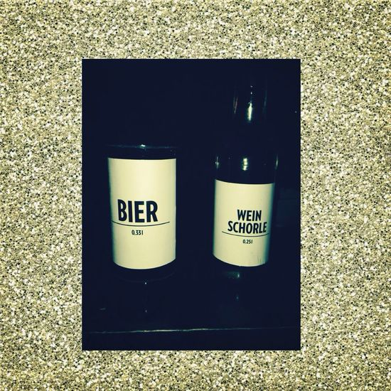 Outgoing Bier Wein Drinks