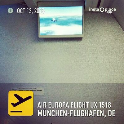 And ready for takeoff! AirEuropa UX1518 Flyingmad