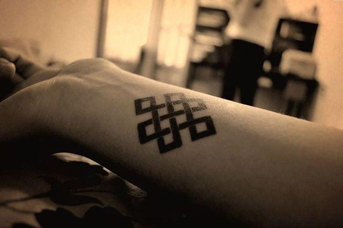Nudo budista, mi nuevo tattoo