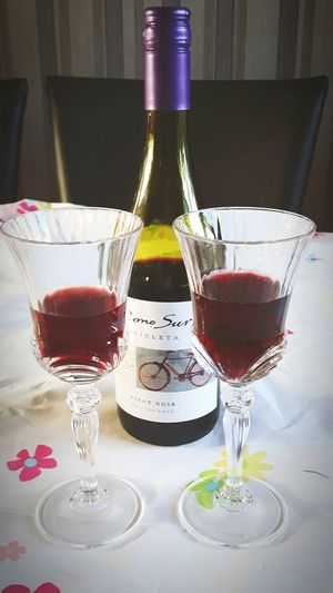 A Nice Glass Of Red Wine With Your Loved One C with your loved one can't be beat. Check This Out Enjoying Life