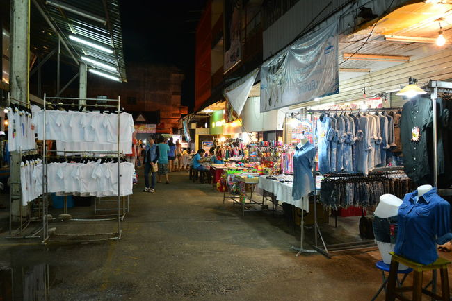 Alley Architecture Bazaar Built Structure Casual Clothing Chiang Rai, Thailand Choice City City Life Day Lifestyles Market Market Stall Night Night Bazaar Outdoors Retail  Shop Small Business Store The Way Forward