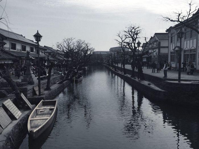 美観地区 倉敷 岡山 Travel Okayama Kurashiki River Water Architecture Built Structure Building Exterior Reflection Sky City Nature Building Day Transportation Waterfront Outdoors Mode Of Transportation Plant Tree EyeEmNewHere