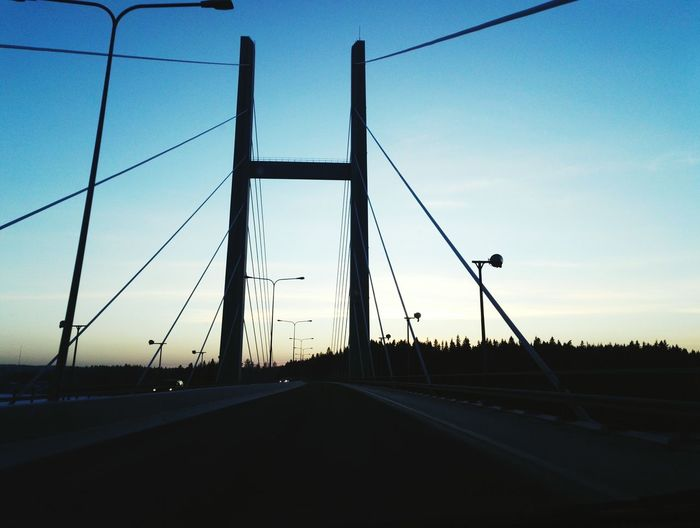 View Bridge Architecture Sunset Wintertime Finland Heinola Light And Shadow Check This Out Evening