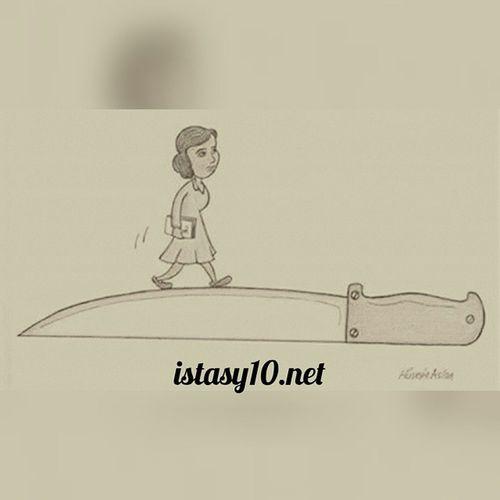 Türkiye'de kadın olmak Instashot Nocrop Kadin Turkiyedekadinolmak kadinolmak Türkiye karikatur espri mizah istanbul ankara izmir