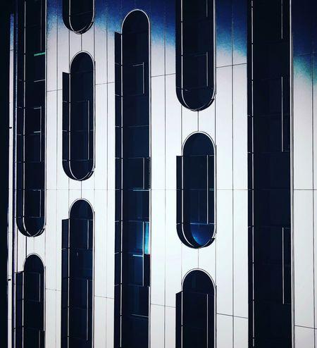 Modernity. Building Exterior Architecture Window Built Structure Day Architecture_collection Architecturelovers Architectural Detail Windows Modern Architecture Futuristic