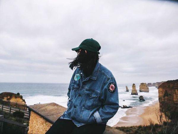 Back in Australia at the 12 apostles😌 People And Places Australia Australian Landscape Australia & Travel Girl Wind Ocean Ocean View Beach 12 Apostles