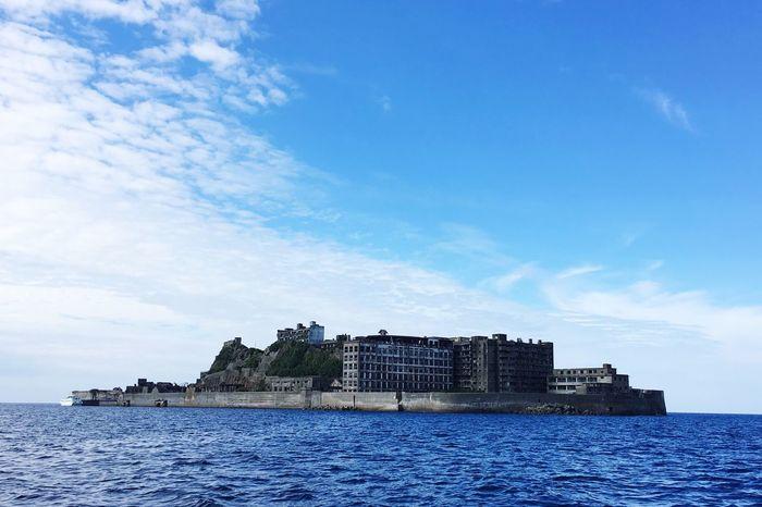 Gunkanjima Nagasaki JAPAN World Cultural Heritage Battleshipisland Hashima Island Sea Ruin Ruined Building