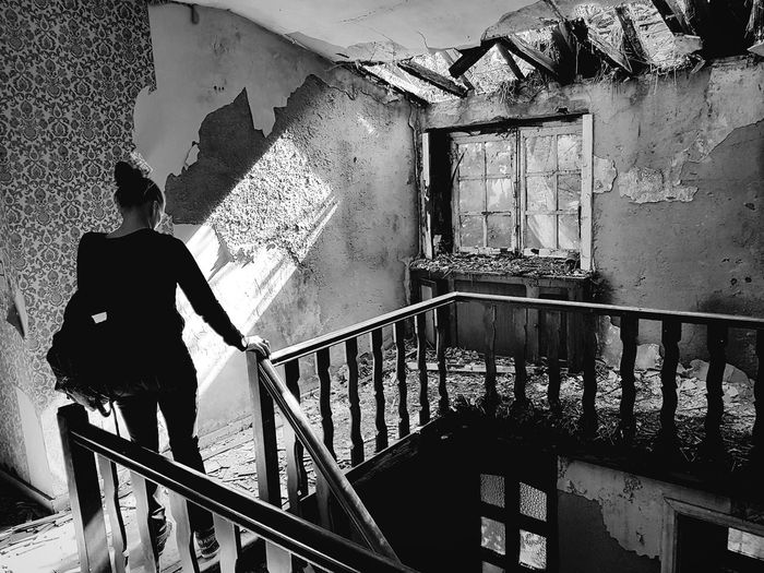 Urbex sunshine My Best Photo The Portraitist - 2019 EyeEm A person Belgium Urbex Urban Exploration Abandoned Derelict My Best Photo The Portraitist - 2019 EyeEm Awards Behind You Black And White The Mobile Photographer - 2019 EyeEm Awards Silhouette Railing Architecture Built Structure Steps And Staircases Hand Rail Staircase Stairs Stairway Urban Scene Sun Friend Building Bad Condition Worn Out Damaged Weathered Ruined Run-down The Traveler - 2019 EyeEm Awards The Creative - 2019 EyeEm Awards The Street Photographer - 2019 EyeEm Awards The Minimalist - 2019 EyeEm Awards The Photojournalist - 2019 EyeEm Awards The Architect - 2019 EyeEm Awards