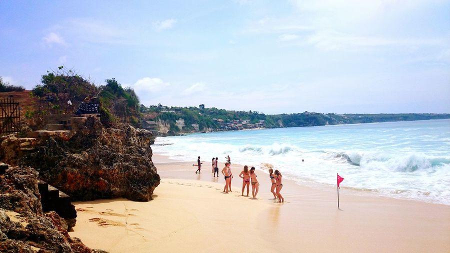 Welcome summer :) Faces Of Summer Summer Vibes Beach Sunlight Summertime Summer2015 @dreamlandbeach Bali, Indonesia