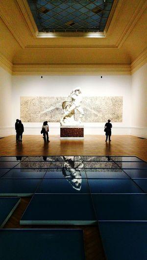 GNAM _ Rome Sculpture Reflection Modern And Classic Art Museum Of Art