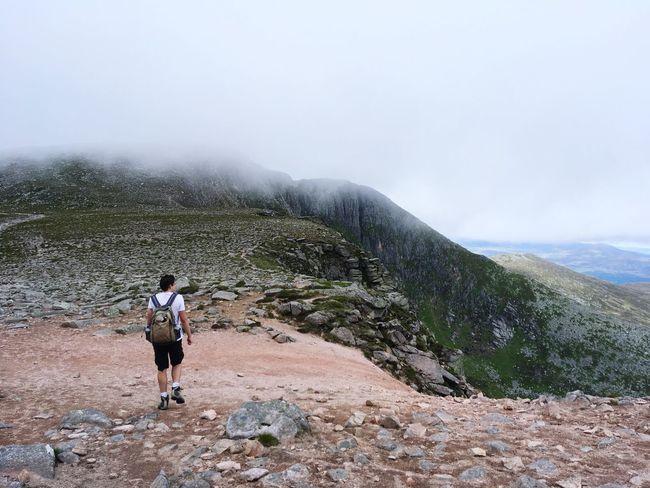 Scotland Hiking Adventure Challange Outdoors Mountain Achievement Endurance Nature The Week On EyeEm The Week On EyeEm Lost In The Landscape Go Higher