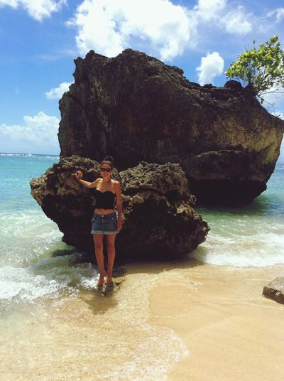 Happiness Balinese Life Balinesegirl Sea Beauty In Nature One Person Horizon Over Water Nature Beach Cloud - Sky Wind Of Change Vacations Young Adult Beauty In Nature