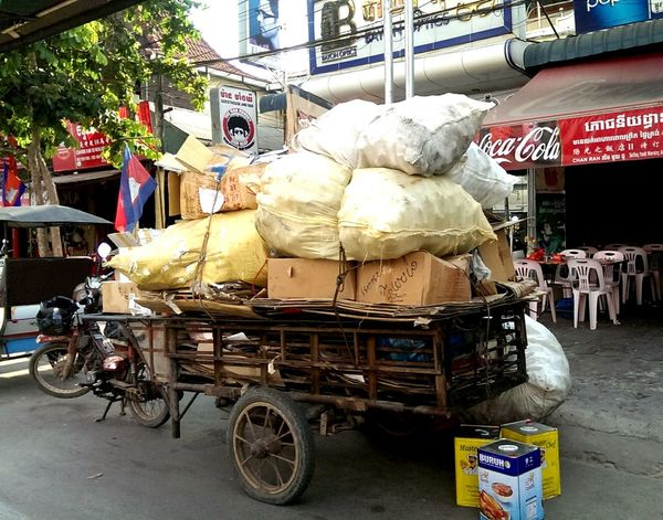 this motorbike has something to carry! Silvia In Asia Motorbike