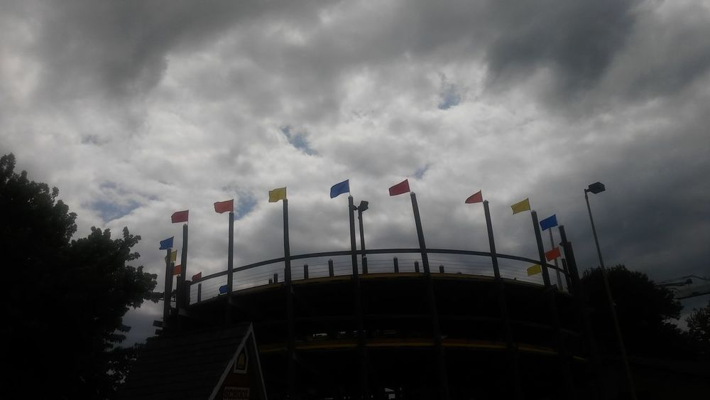 Go cart race track Flags Flags In The Wind  Gatlinburg Tennessee Clouds And Sky Go Karting Go Kart Racing Go Karts Race Track Cloud Contrasting Colors Contrast Dramatic Sky