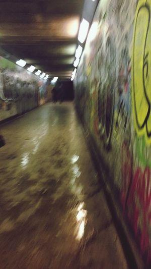 Vanishing Point Urban Underground Backstreets & Alleyways