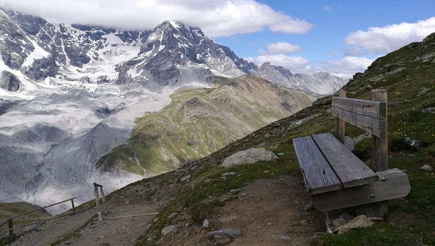 Bergrast 3XSPUnity Beauty In Nature Panoramic Alps Alto Adige Sulden Ortlergruppe Gletscher Bank Mountain Snow Snowcapped Mountain Sky Mountain Range Landscape Cloud - Sky Mountain Peak Snowcapped Snow Covered