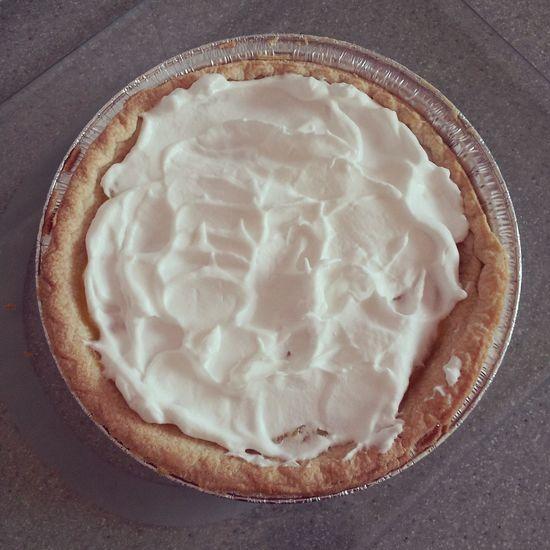 Lemon meringue pie with the meringue pre-baked. Lemon Pie Pie Lemon Meringue Pie , Homemade